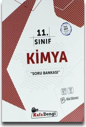 Kafa Dengi Yayınları 11. Sınıf Kimya Soru Bankası - Hilal Dönmez