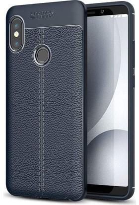 Case 4U Xiaomi Mi 6X Kılıf Darbeye Dayanıklı Niss Arka Kapak - Lacivert