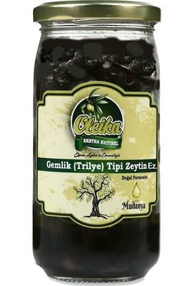 Oleika Gemlik Trilye Tipi Doğal Fermente Zeytin Ezmesi (Net 100 gr)