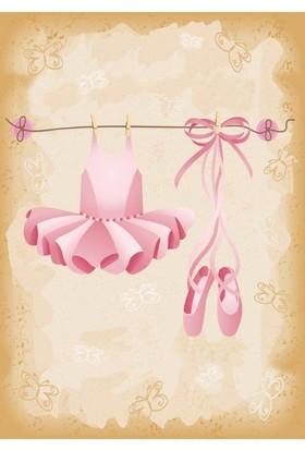 Özverler Ballerina Kanvas Tablo COGE-214