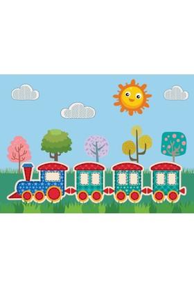 Özverler Train Kanvas Tablo COGE-241