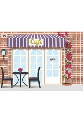 Özverler Cafe Kanvas Tablo COGE-246