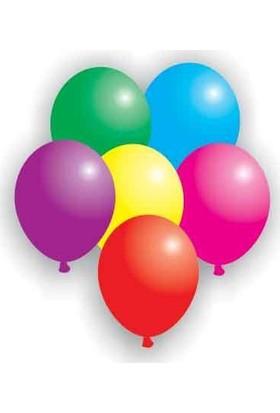 Buket Karışık Renkli Orta Boy Balon 100 Lü Paket