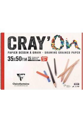Clairefontaine Çizim Blok 35X50Cm 120 Gr 15 Yaprak 6 Lı Ekonomik Paket