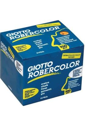 Robercolor Tozsuz Tebeşir Kırmızı 100Lü Paket