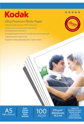 Kodak Ultra Premium Satin,Mat 15x21 270Gr/m² Fotoğraf Kağıdı 100 Yaprak
