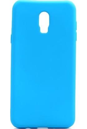 Ehr. Samsung Galaxy C8 Premier Ultra Lüx Soft TPU Silikon Kılıf + Ekran Koruyucu Cam