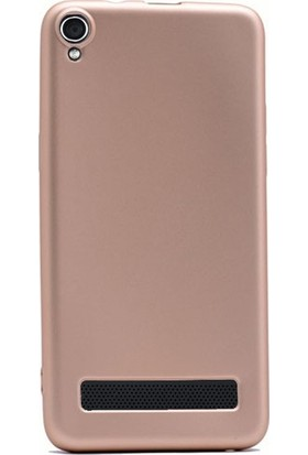 Ehr. Vestel Venüs 5020 Premier Ultra Lüx Soft Mat TPU Silikon Kılıf + Ekran Koruyucu Cam
