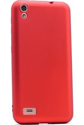 Ehr. Vestel Venüs 5010 Premier Ultra Lüx Soft Mat TPU Silikon Kılıf + Ekran Koruyucu Cam