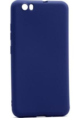Ehr. Vestel Venüs E3 Premier Ultra Lüx Soft Mat TPU Silikon Kılıf + Ekran Koruyucu Cam