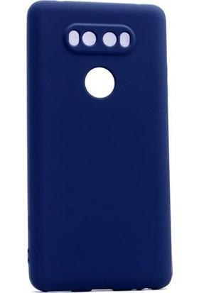 Ehr. LG V20 Premier Ultra Lüx Soft Mat TPU Silikon Kılıf + Ekran Koruyucu Cam