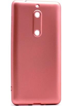 Ehr. Nokia 5 Premier Ultra Lüx Soft Mat TPU Silikon Kılıf