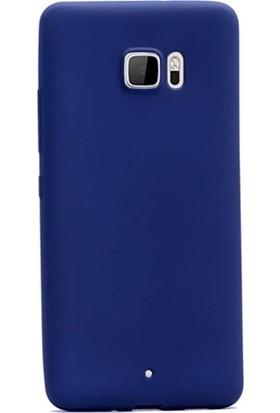 Ehr. HTC U Ultra Premier Ultra Lüx Soft Mat TPU Silikon Kılıf + Ekran Koruyucu Cam