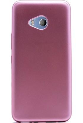 Ehr. HTC U11 Premier Ultra Lüx Soft Mat TPU Silikon Kılıf + Ekran Koruyucu Cam