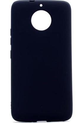 Ehr. Lenova Moto G5S Premier Ultra Lüx Soft Mat TPU Silikon Kılıf + Ekran Koruyucu Cam