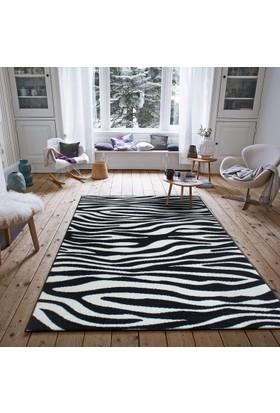 Saray Halı Luna OZD33 Siyah / Beyaz Modern Halı