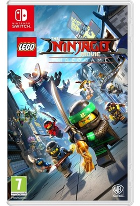 Lego The Ninjago Movie Videogame Nintendo Switch Oyun