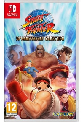 Capcom Street Fighter 30th Anniversary Collection Nintendo Switch Oyun