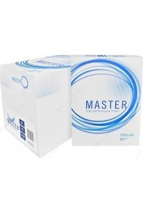 Master A4 Fotokopi Kağıdı 80Gr 5 Paket 1 Koli ( 2500 Sayfa )