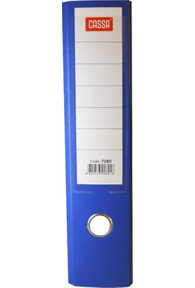 Cassa Plastik Klasör Geniş Mavi 5 Adet