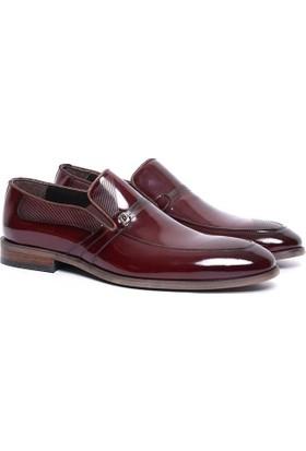 Pierre Cardin Erkek Klasik Ayakkabı Bordo 16238A