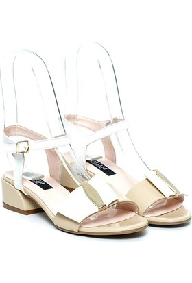Kuum Bayan Sandalet Altın Kz1614