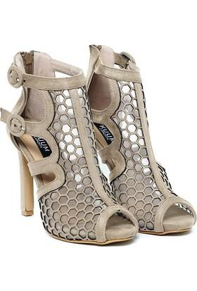 Kuum Topuklu Ayakkabı Bej Kz158955