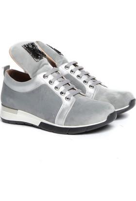 Kuum Bayan Sneaker Gümüş Kz31503
