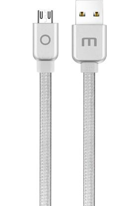 Meizu Micro USB Data ve Şarj Kablosu (1.2 m) - Gümüş