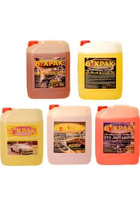 Bixpak Çok Amaçlı Oto Araç Temizlik Ürünleri Karma 5 Kg 5 li