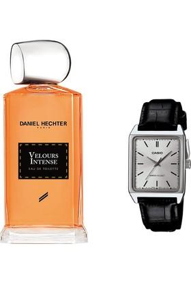 Daniel Hechter Collection Couture Velours Intense Homme Edt 100 ml Erkek Parfümü + Casio Mtp V007l 7e1udf Kol Saati