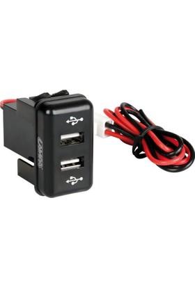 Lampa Volvo Kamyon İçin 2'li USB Şarj Soketi 97966