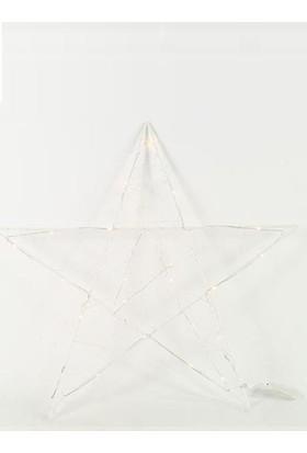 Piyop Led'Li Yıldız Süs Büyük