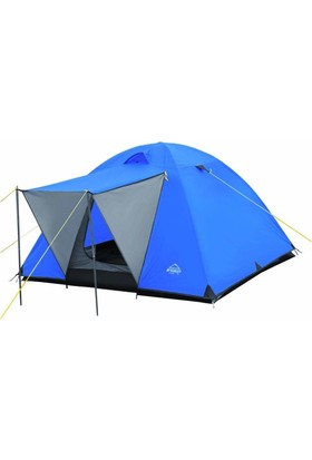 Gringo AE Güneşlikli Fer 7 Kişilik Otomatik Kamp Çadırı 250x250x160 CM