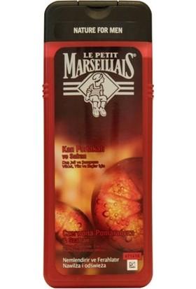 Le Petit Marseillais For Men Kan Portakalı ve Safran Duş Jeli ve Şampuan 400ml