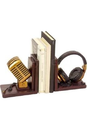 Tkn Mikrofon Kulaklık Kitap Desteği