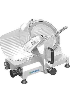 Mateka Jambon Sucuk Salam Dilimleme Kesme Doğrama Makinası 25 Cm