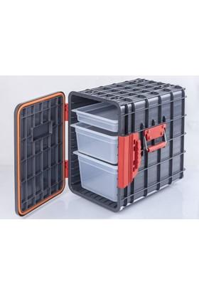 Gastroplast Küvet Gastronom Küvet Taşıma Kabı Termobox 100 Lt