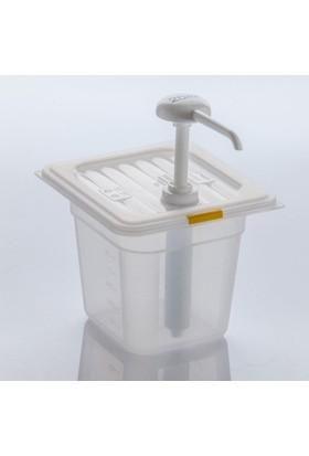 Gastroplast Hardal Pompası Ketçap Mayonez Dispenseri Stand Şeffaf