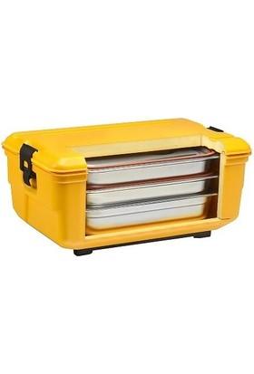 Avatherm Gastronom Küvet Yemek Gıda Taşıma Kabı Termobox 48 Lt