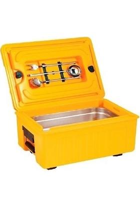 Avatherm Gastronom Küvet Yemek Gıda Taşıma Kabı Thermobox 17 Lt