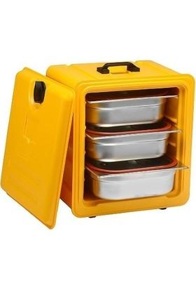 Avatherm Yemek Taşıma Kabı Gastronom Thermobox Gıda Küvet 19,5 Lt