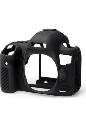 Easycover Canon 5D Mark4 + Silikon Kılıf Ekran Koruyucu (Siyah)