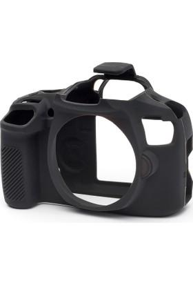 Easycover Canon 2000D + Silikon Kılıf Ekran Koruyucu ( Siyah )