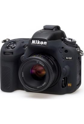 Easycover Nikon D750 + Silikon Kılıf Ekran Koruyucu ( Siyah )