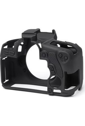 Easycover Canon 760D + Silikon Kılıf Ekran Koruyucu ( Siyah )