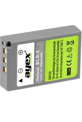 Ayex Olympus E-P3 E-Pl1S E-Pl2 E-Pl3 E-Pm1 İçin Bls-5 Batarya
