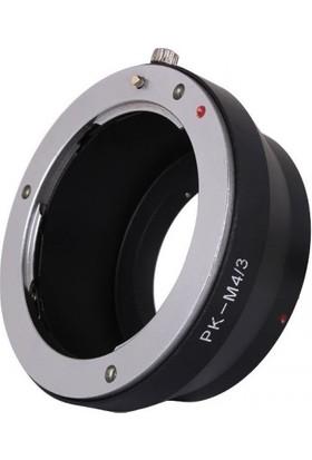 GreenL Olympus Micro 4/3 (M4/3) İçin Pentax Lens Adaptörü