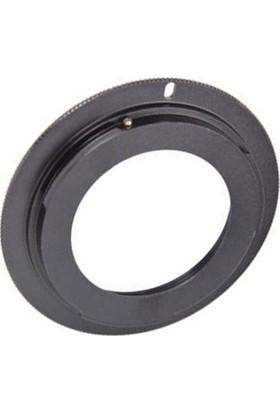 Ayex Canon Eos İçin M42 Lens Adaptörü Alüminyum