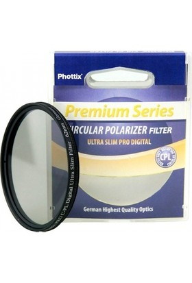 Phottix Phottix 55 Mm Ultra Slim Pro Digital Cpl Polarize Filtre